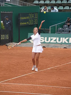 sexy marta domachowska tennis player model
