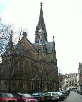 Äußere Neustadt - Martin Luther church