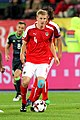 Martin Hinteregger playing for Austria vs Wales 02.jpg