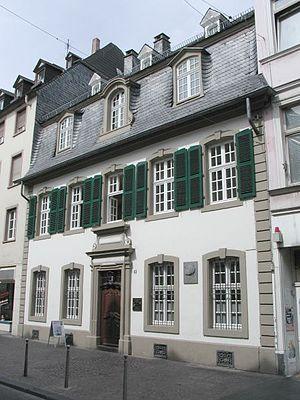 Marx birthplace Trier