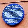 Mary Barbour Blue Plaque, 10 Hutton Drive, Linthouse.jpg