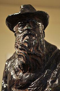 Serafim Sudbinin French sculptor and ceramist