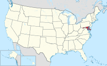 Maryland in United States.svg