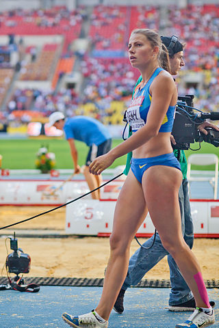 Maryna Bekh (2013 World Championships in Athletics) 01.jpg