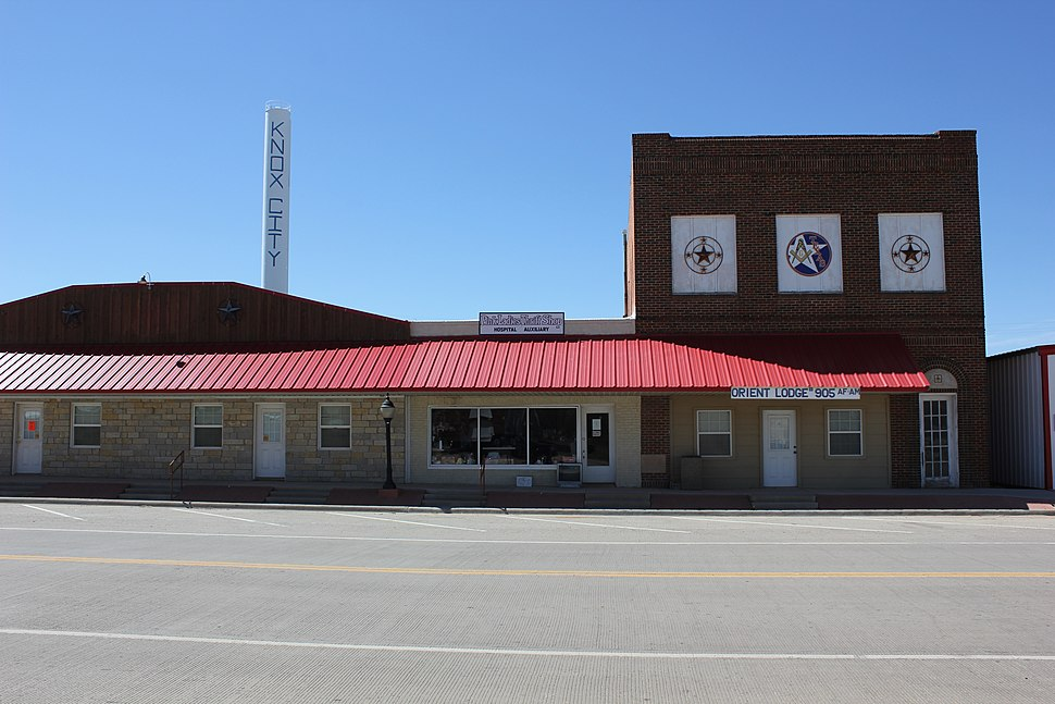 Masonic Lodge in Knox City