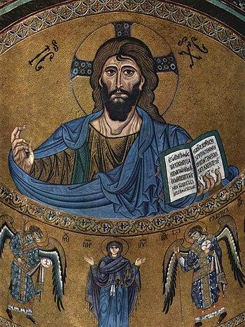 The Christ Pantokrator.