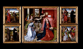 Triptych of the Annunciation