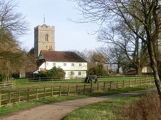 The Hundred Parishes - Matching, Essex - Church and wedding feast room