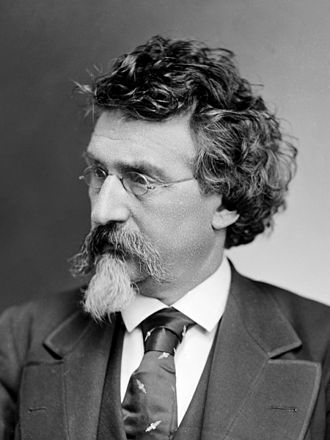 Necktie - Mathew Brady wearing a tie in 1875