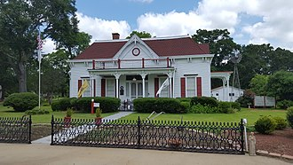 National Register of Historic Places listings in Cass County, Texas - Image: Mathews Powell House, Queen City, TX