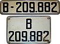Matrículas automovilísticas España 1929 Barcelona B-209.882.jpg