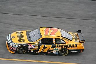 DeWalt - DeWalt Ford Fusion in 2008, driven by Matt Kenseth.