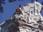Up close view of Matterhorn climbers