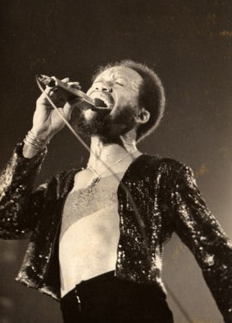 Maurice White - Maurice White in Munich, Germany in 1975