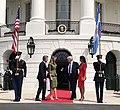 Mauricio Macri & Donald Trump at the White House 02.jpg
