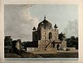 Mausoleum in the Khusrau Bagh, near Allahabad, Uttar Pradesh Wellcome V0050481.jpg
