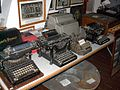 Mauston Wisconsin's Boorman House Collection of Anitque Typewriters.JPG