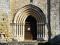 Mauzens-et-Miremont Mauzens église portail.JPG