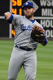 a893de9701b97c Max Muncy, who began the season in the minors, would lead the Dodgers in home  runs in 2018 and also participated in the Home Run Derby at the All-Star  Game