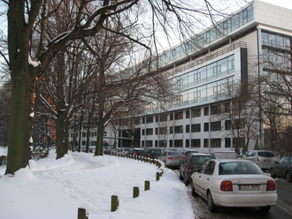 Max Planck Institute for Evolutionary Anthropology - Street view of the Institute