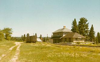 Hastings Highlands - CNR station at Maynooth Station, c. 1971