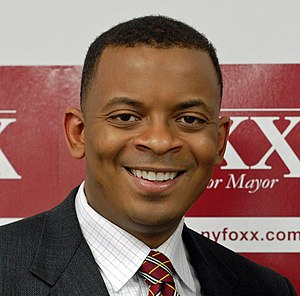 English: Anthony Foxx, Democrat, mayor of Char...