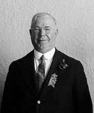 James Simpson (politician) - Image: Mayor James Simpson 1935