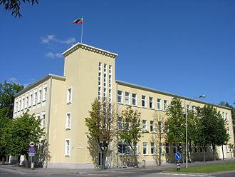 Mažeikiai - Building of Mažeikiai district municipality