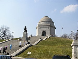 McKinley National Memorial - The Memorial in March 2005