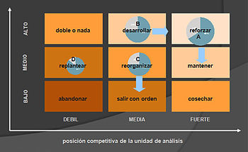 English: Oiginal '70s McKinsey Matrix Español:...