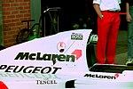 Mclaren MP4-9 at the 1994 British Grand Prix (32541381865).jpg