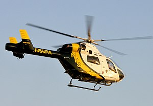 National Park Service - A National Park Service MD 900 helicopter