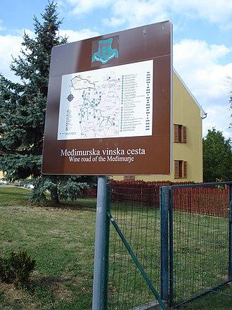 Scenic route - Međimurje Wine Route, Croatia