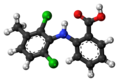 Meclofenamic acid molecule ball.png