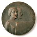 Medal. Song Festival. 1926. T.Zalkalns. 150mm. obverse.png