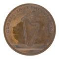 Medalj med bild av harpa - Skoklosters slott - 99295.tif