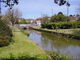 River Medina - Image: Medina at Newport