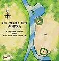 Medora Site map HRoe 2009.jpg