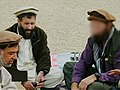 "Meeting between Haji Zaman Gamarshareek, Hazret Ali, CIA Juliet Team leader ""George"", during Tora Bora battle.jpg"