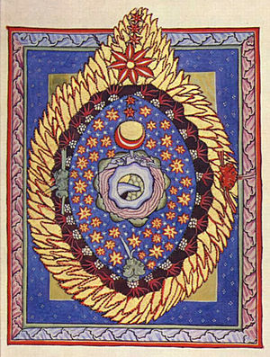 Scivias - Illumination accompanying the third vision of Part I of Scivias
