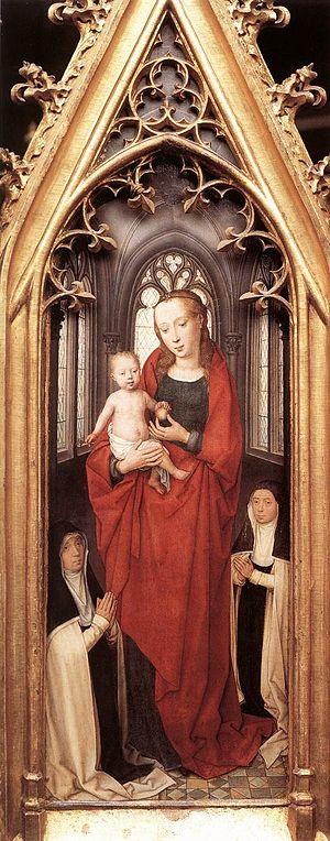 St. Ursula Shrine - Virgin and Child.