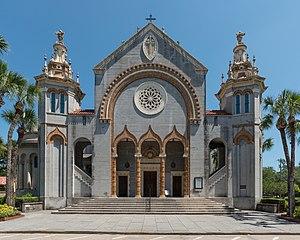 Memorial Presbyterian Church - Image: Memorial Presbyterian Church, St. Augustine FL, South view 20160707 1