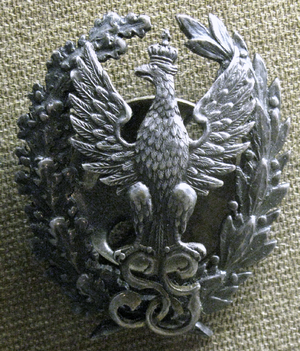 Polish General Staff - Badge for officers with an academic degree serving in the Polish General Staff (1918–1939).