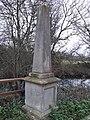 Memorial to Edgar George Wilson, Thames towpath, Oxford 02.jpg