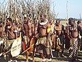 Men prepare to enter royal kraal.jpg