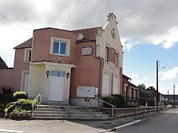 Mennessis (Aisne) mairie.JPG