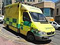 Mercedes Ambulance licence registration 'RK04 GUU' pic1.JPG