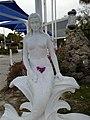 Mermaid statue of Weeki Wachee Springs, Florida.jpg
