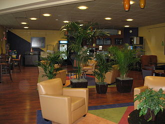Joseph M. Katz Graduate School of Business - Student lounge in Mervis Hall