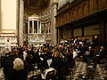 Messina Cathedral - Centenary of 1908 Messina Earthquake - Choir.jpg